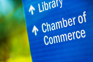 Another way to build customer loyalty is to join your local chamber of commerce