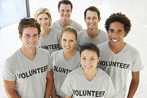Telling customers you volunteer for a local cause can boost customer loyalty