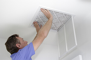 Changing your home's air filter is another way to keep your family safe and healthy even during a home quarantine.