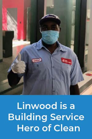Linwood demonstrates his dedication to his team and the community by making recommendations to improve the facility's overall cleanliness.